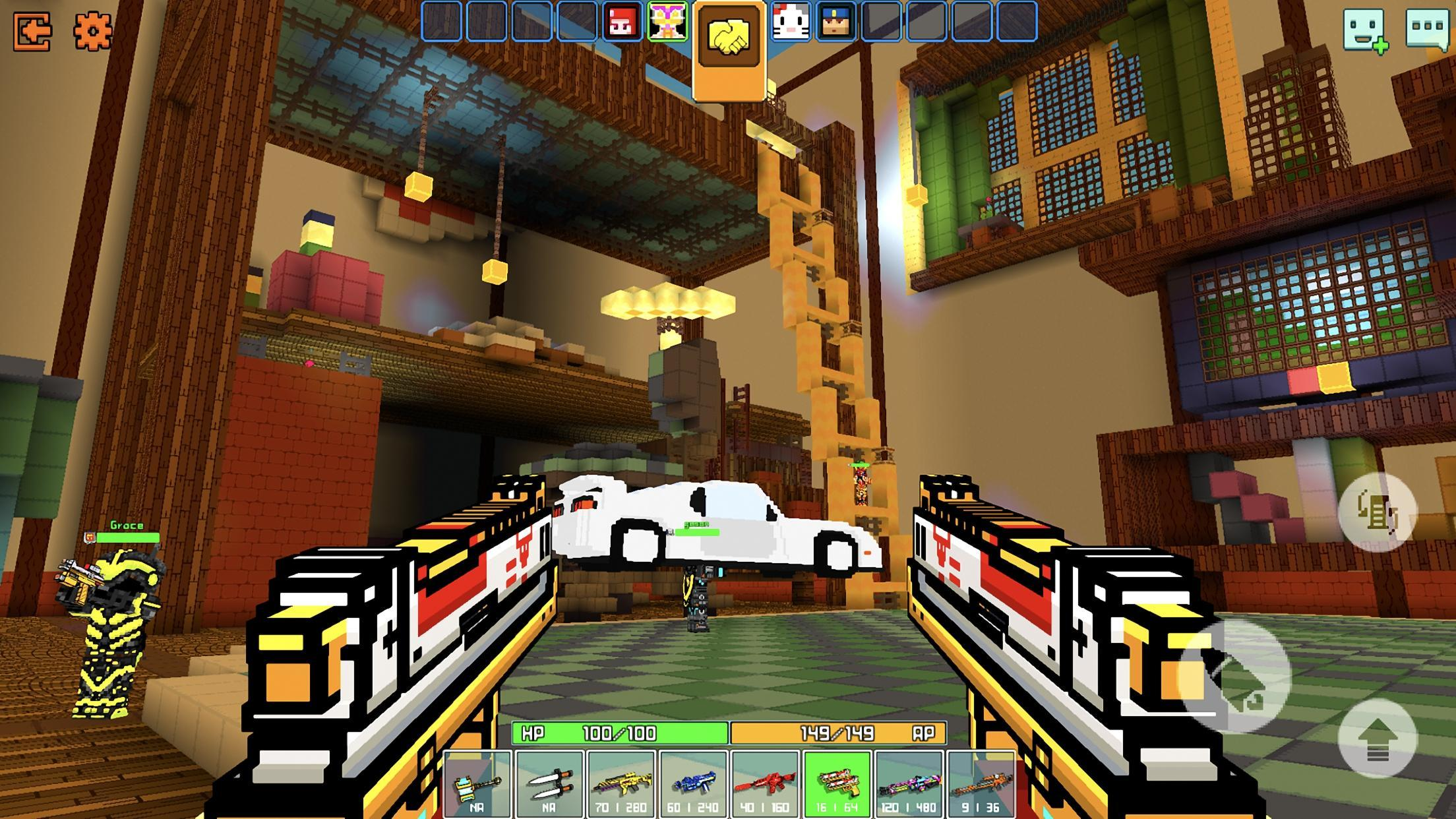 Cops N Robbers - 3D Pixel Craft Gun Shooting Games 9.8.4 Screenshot 3