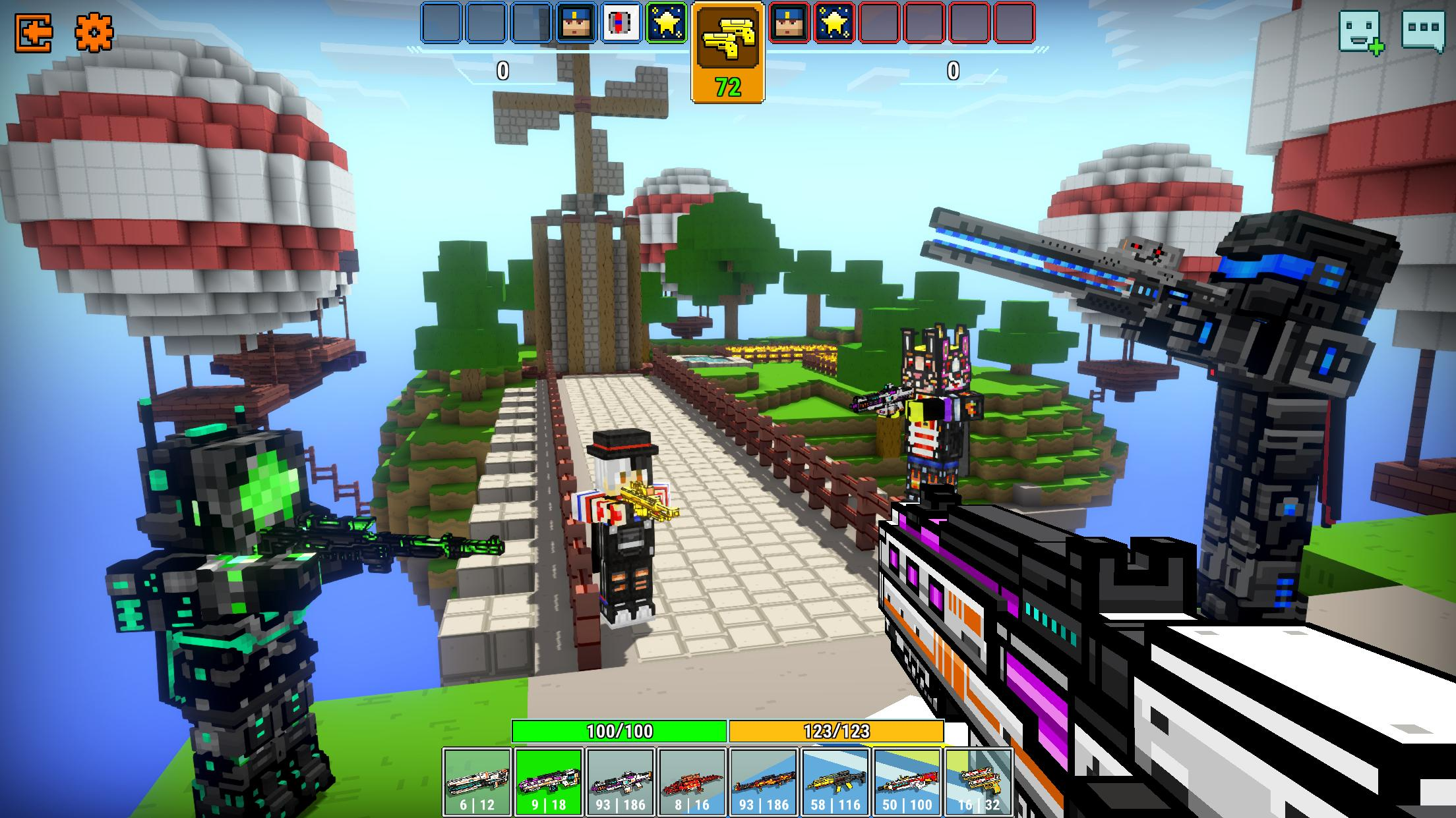 Cops N Robbers - 3D Pixel Craft Gun Shooting Games 9.8.4 Screenshot 4