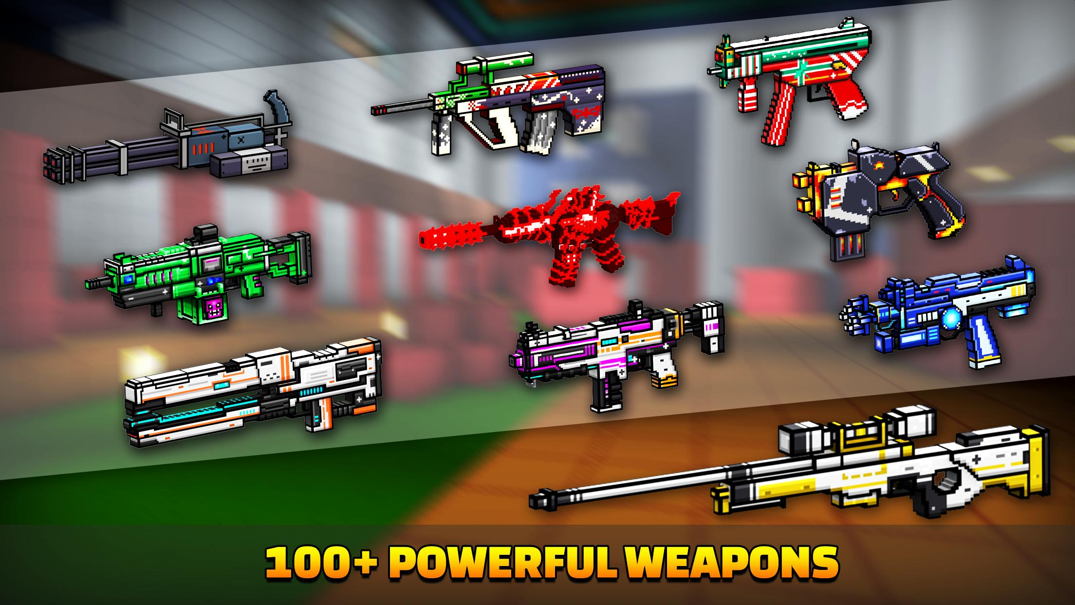 Cops N Robbers - 3D Pixel Craft Gun Shooting Games 9.8.4 Screenshot 5