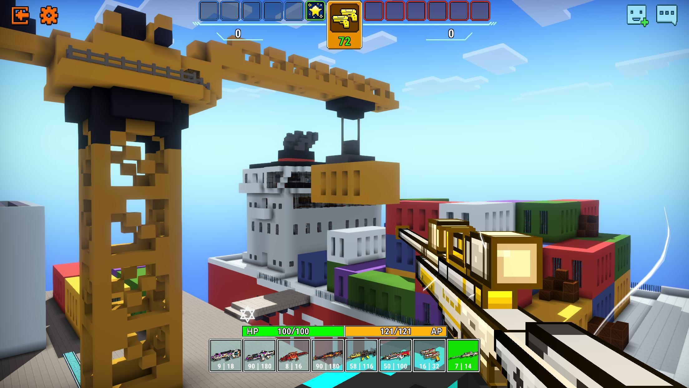 Cops N Robbers - 3D Pixel Craft Gun Shooting Games 9.8.4 Screenshot 8