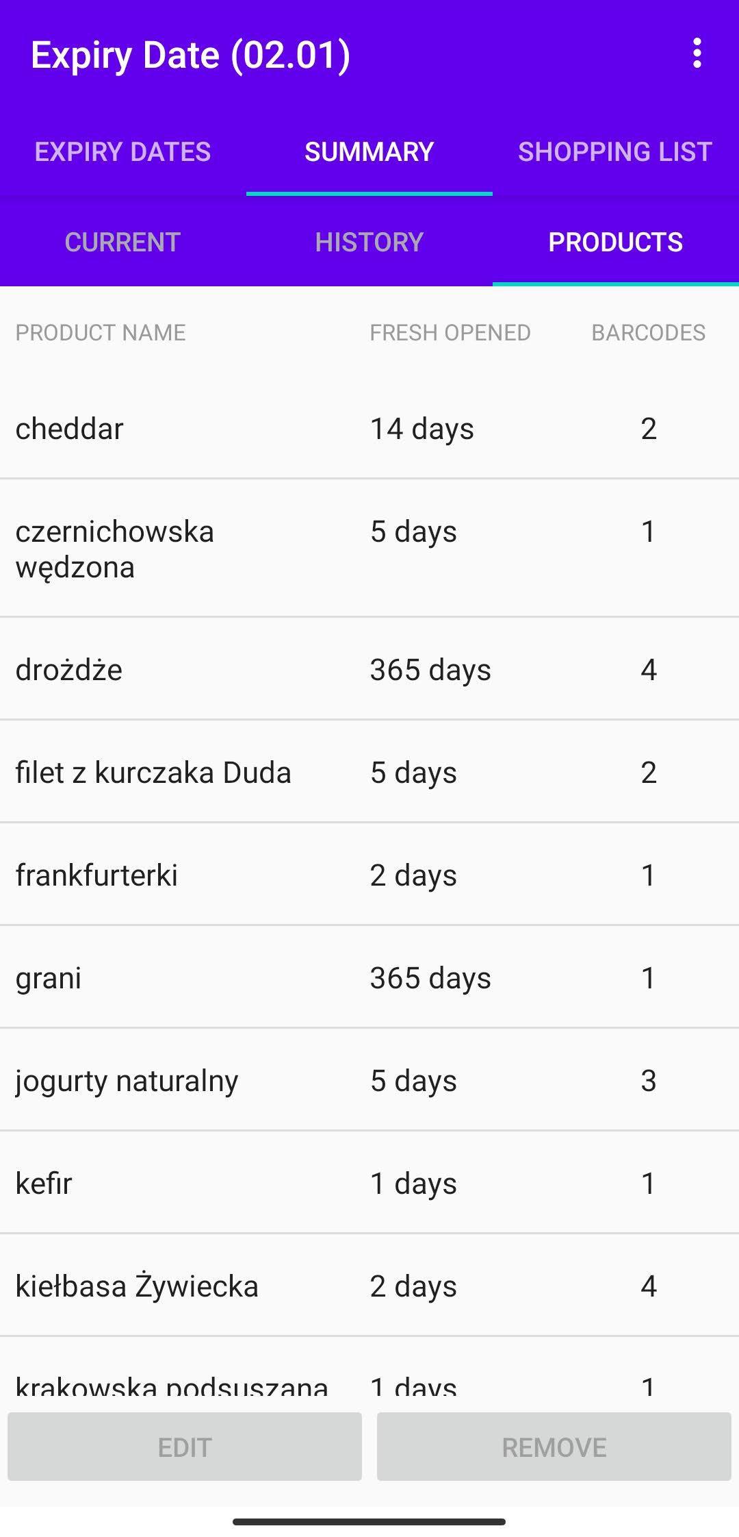 Expiry Date 1.45 Screenshot 6