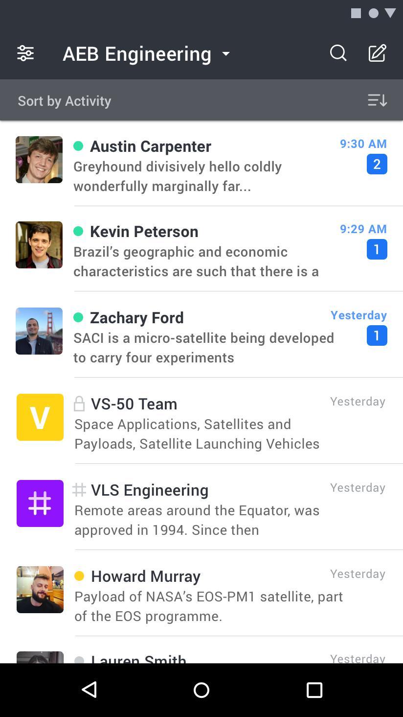Rocket.Chat 4.5.2 Screenshot 1