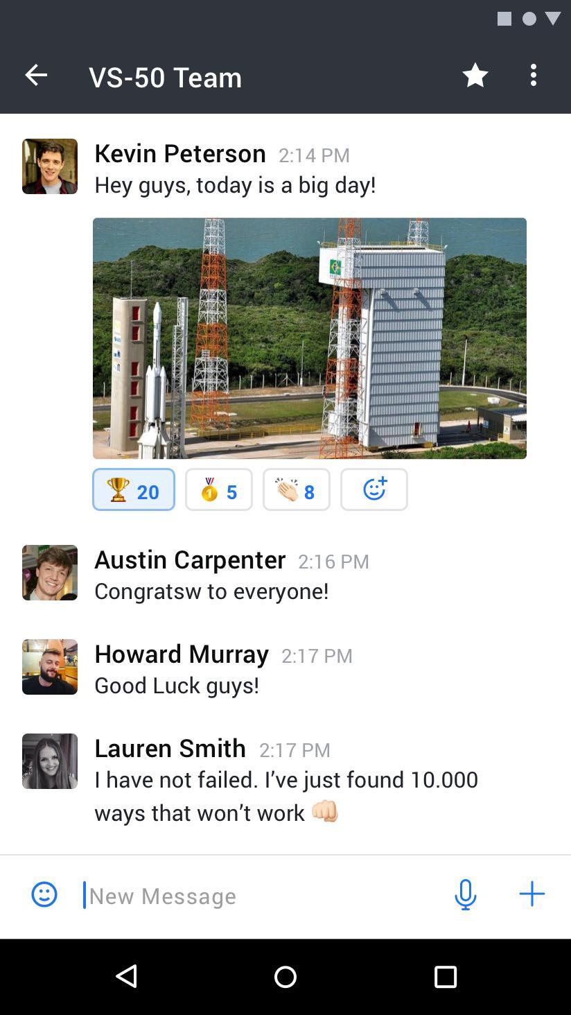 Rocket.Chat 4.5.2 Screenshot 2