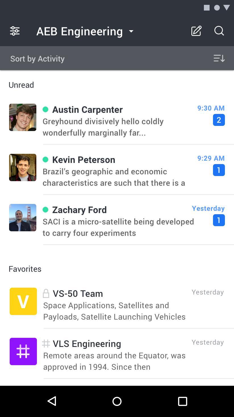 Rocket.Chat 4.5.2 Screenshot 3