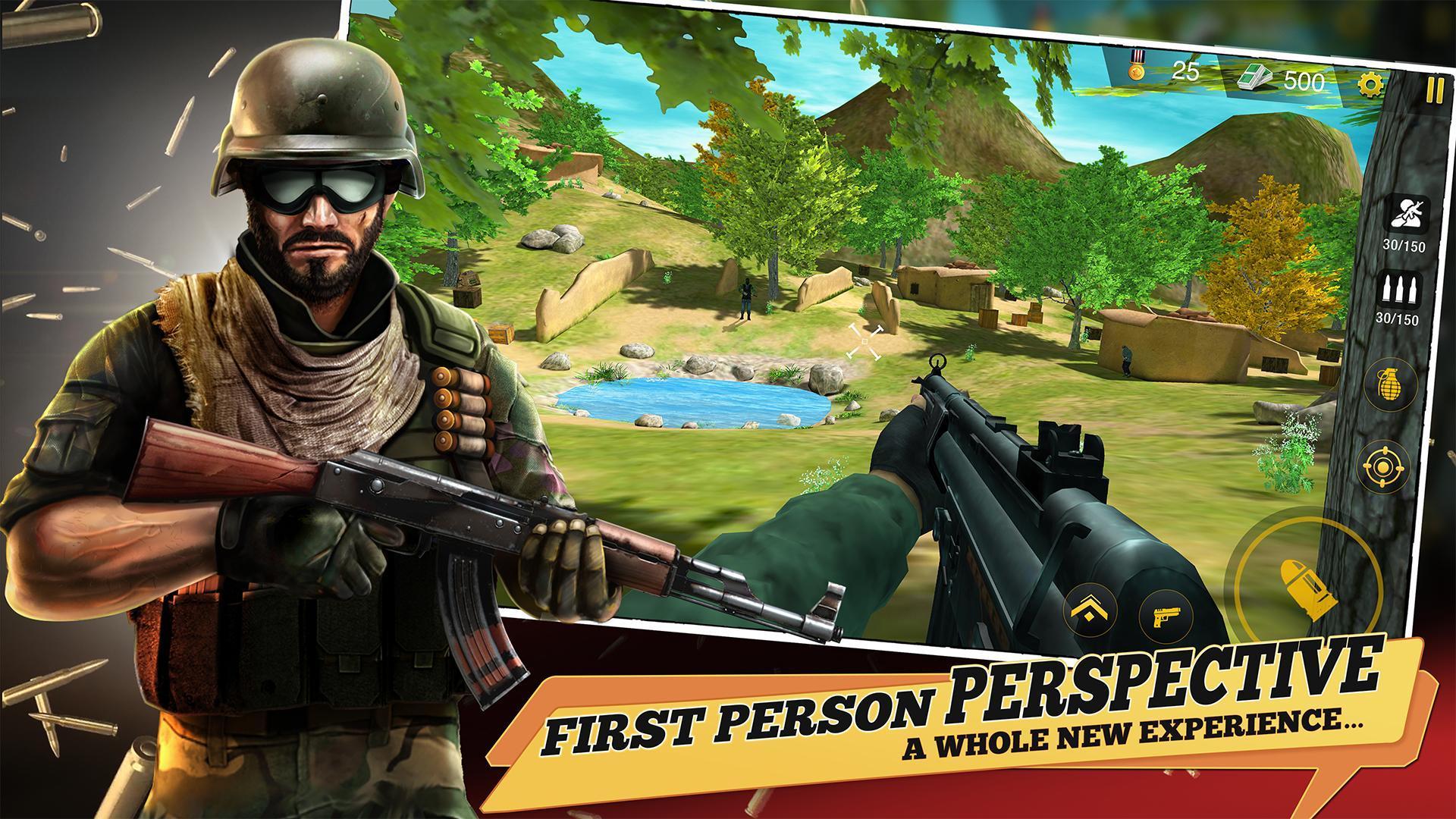 Yalghaar Delta IGI Commando Adventure Mobile Game 3.4 Screenshot 1