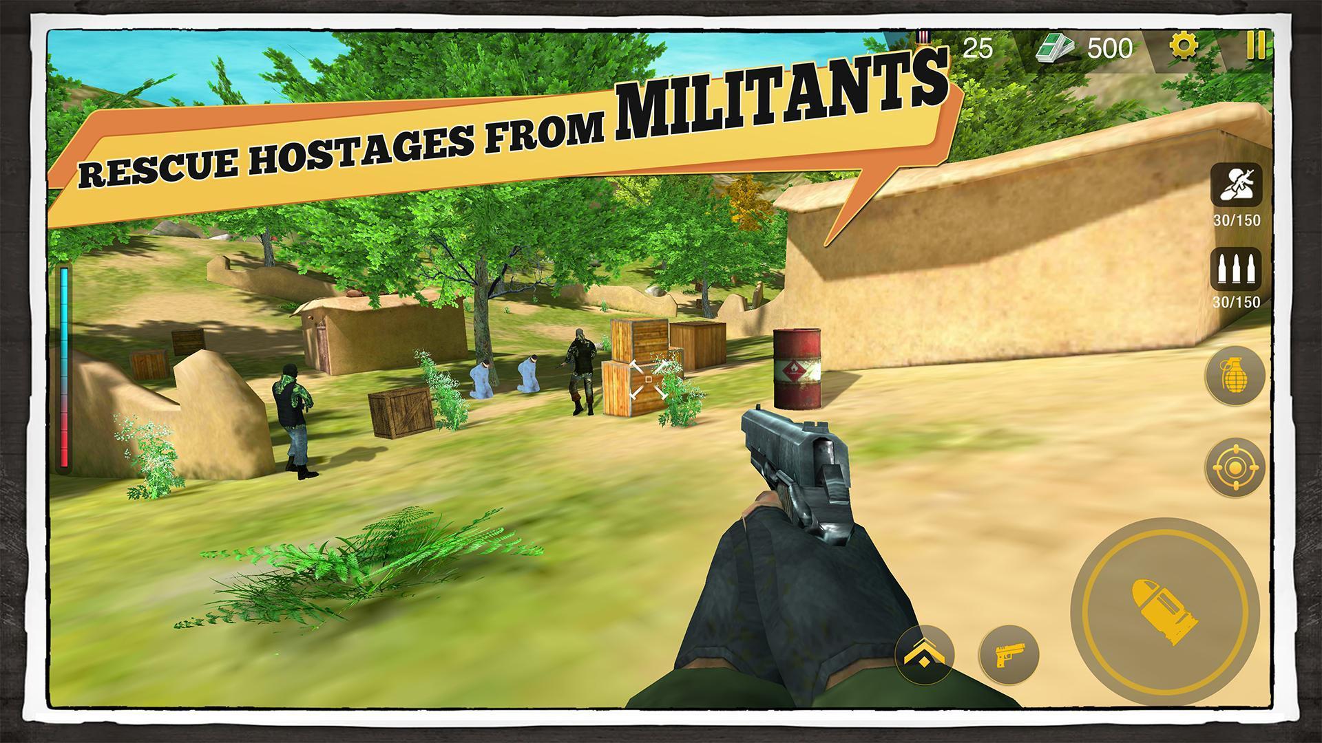 Yalghaar Delta IGI Commando Adventure Mobile Game 3.4 Screenshot 2