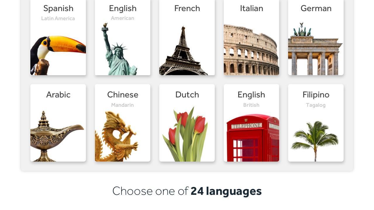 Rosetta Stone Learn Languages 5.7.2 Screenshot 1