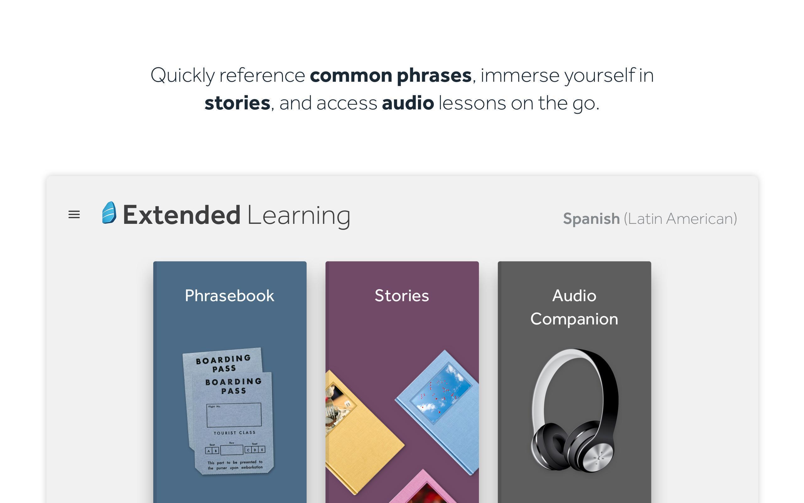Rosetta Stone Learn Languages 5.7.2 Screenshot 12