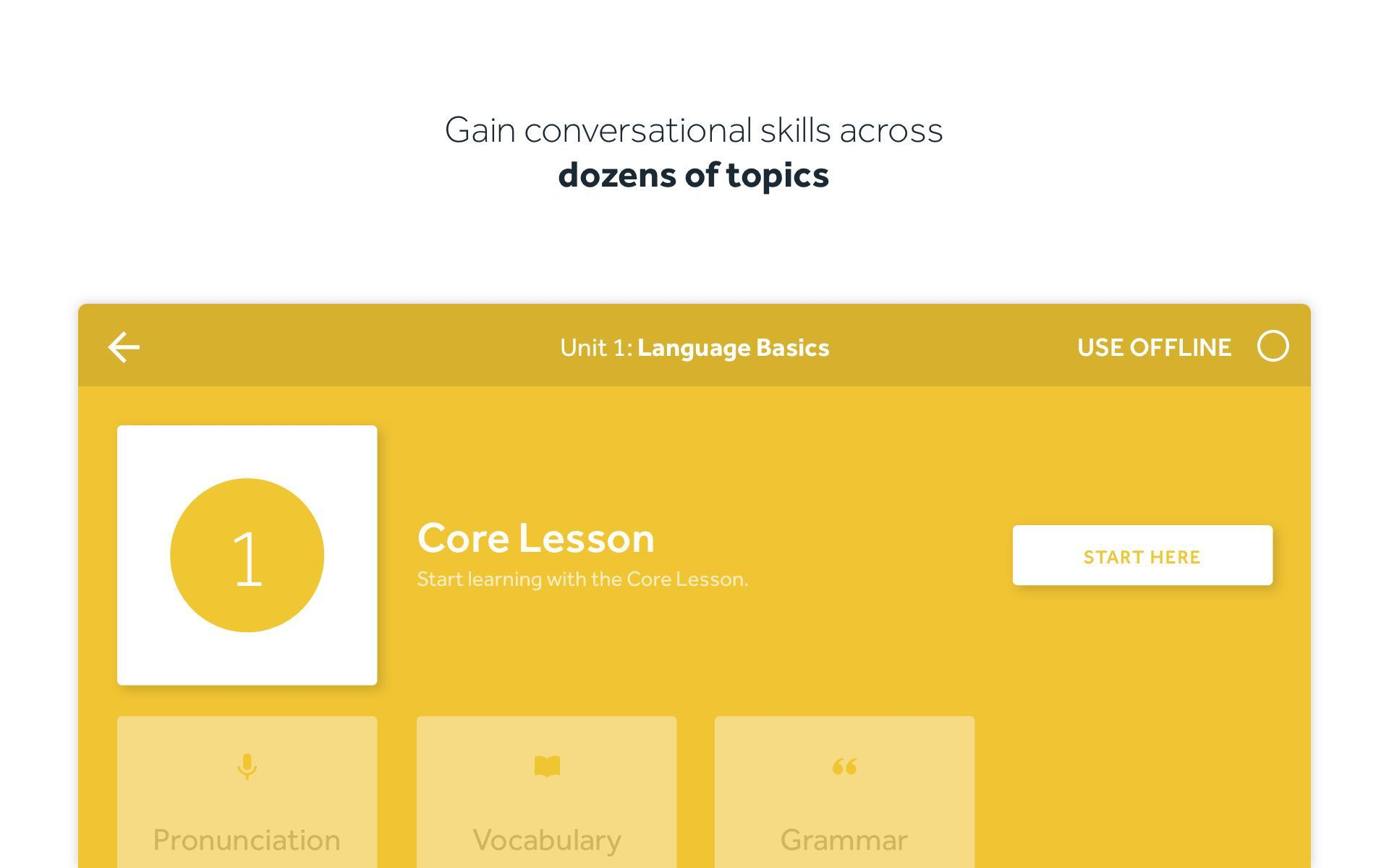 Rosetta Stone Learn Languages 5.7.2 Screenshot 17