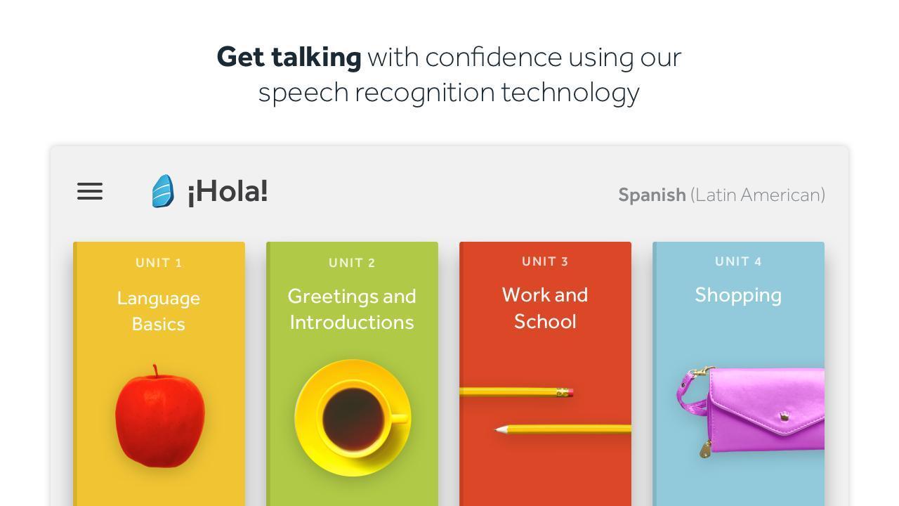 Rosetta Stone Learn Languages 5.7.2 Screenshot 2