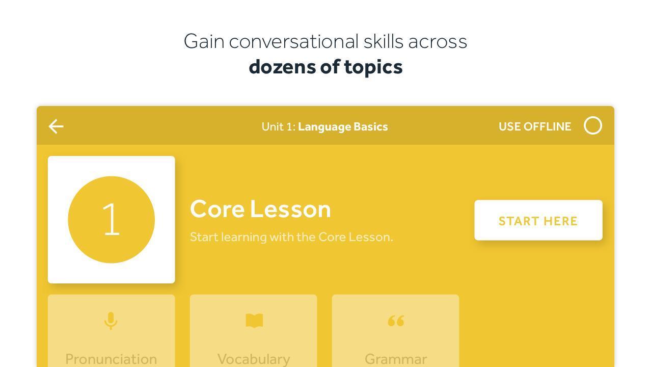 Rosetta Stone Learn Languages 5.7.2 Screenshot 4