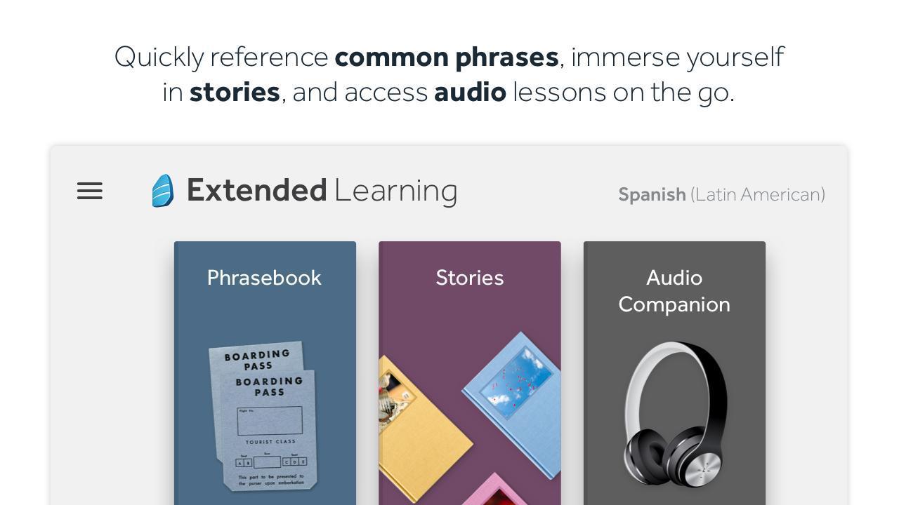 Rosetta Stone Learn Languages 5.7.2 Screenshot 5