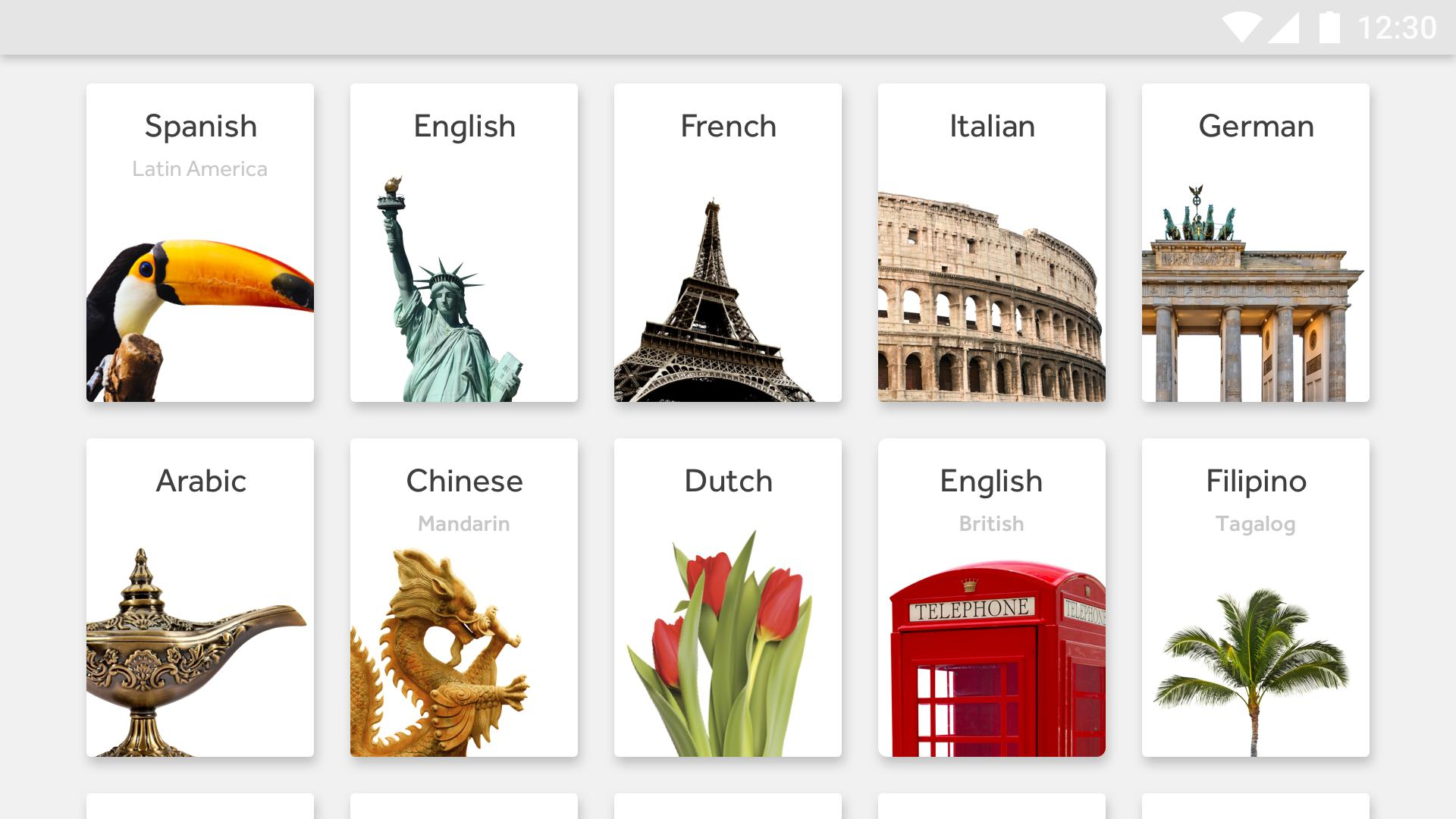 Rosetta Stone Learn Languages 5.7.2 Screenshot 6