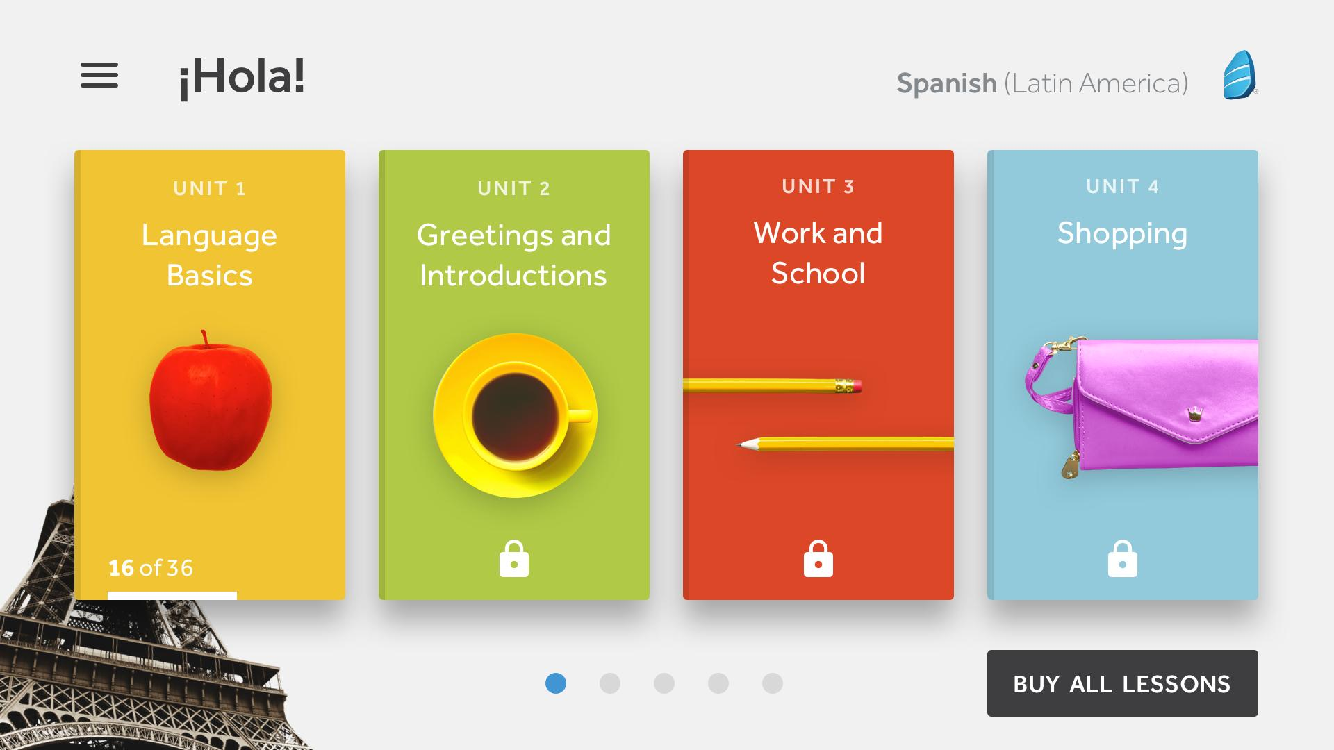 Rosetta Stone Learn Languages 5.7.2 Screenshot 7