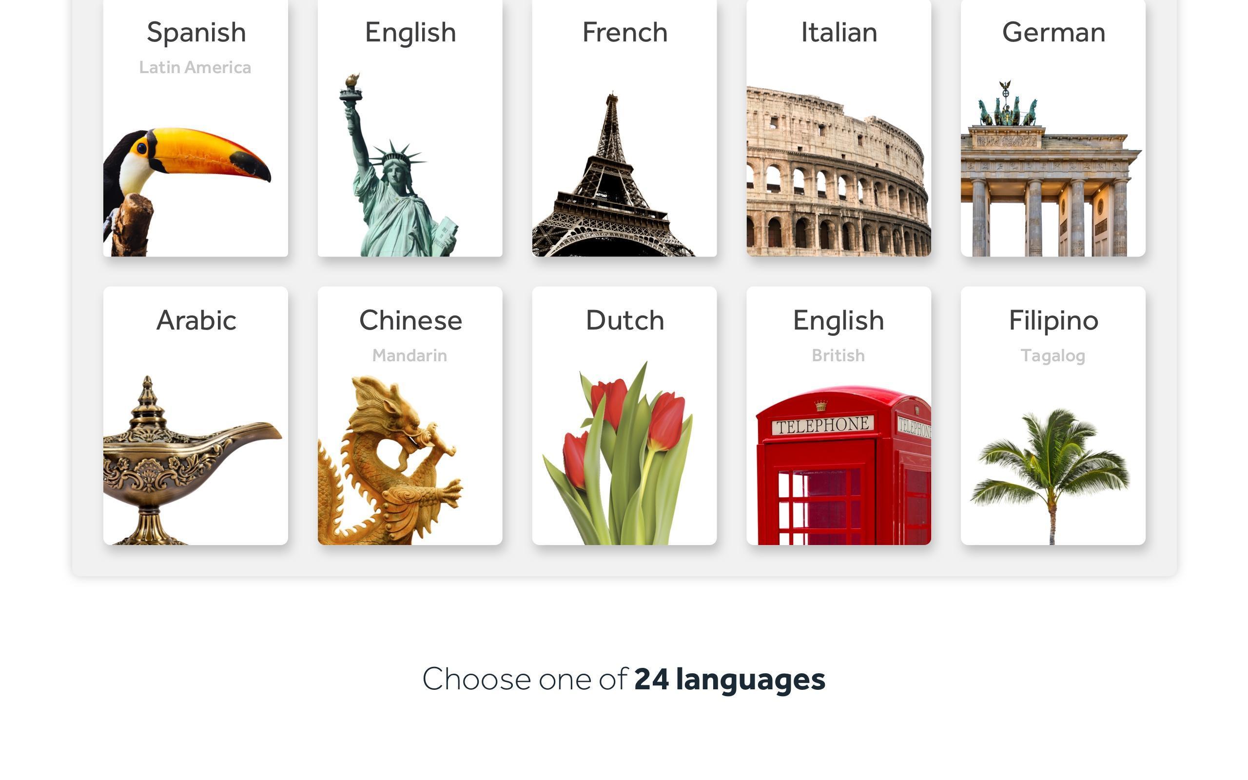 Rosetta Stone Learn Languages 5.7.2 Screenshot 8