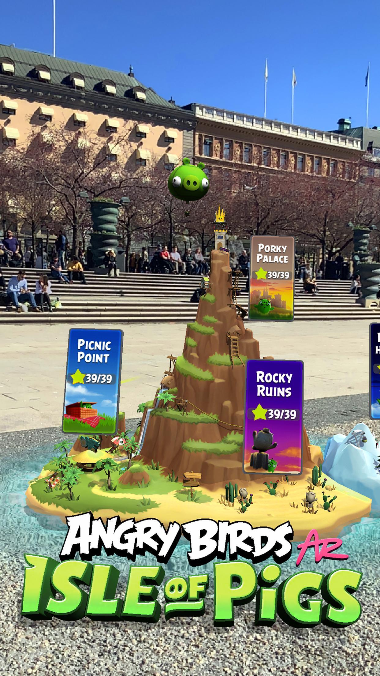 Angry Birds AR: Isle of Pigs 1.1.2.57453 Screenshot 1