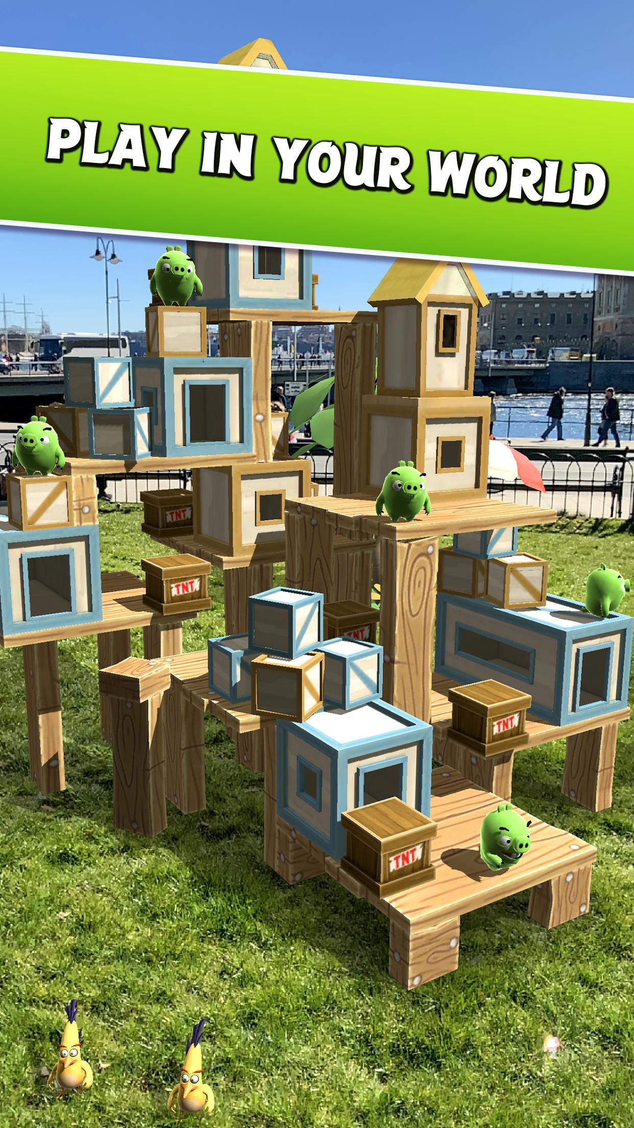 Angry Birds AR: Isle of Pigs 1.1.2.57453 Screenshot 2