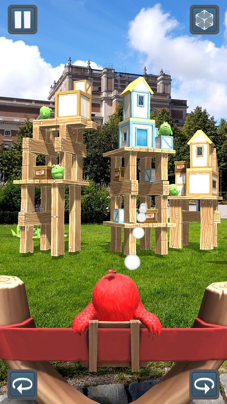Angry Birds AR: Isle of Pigs 1.1.2.57453 Screenshot 5