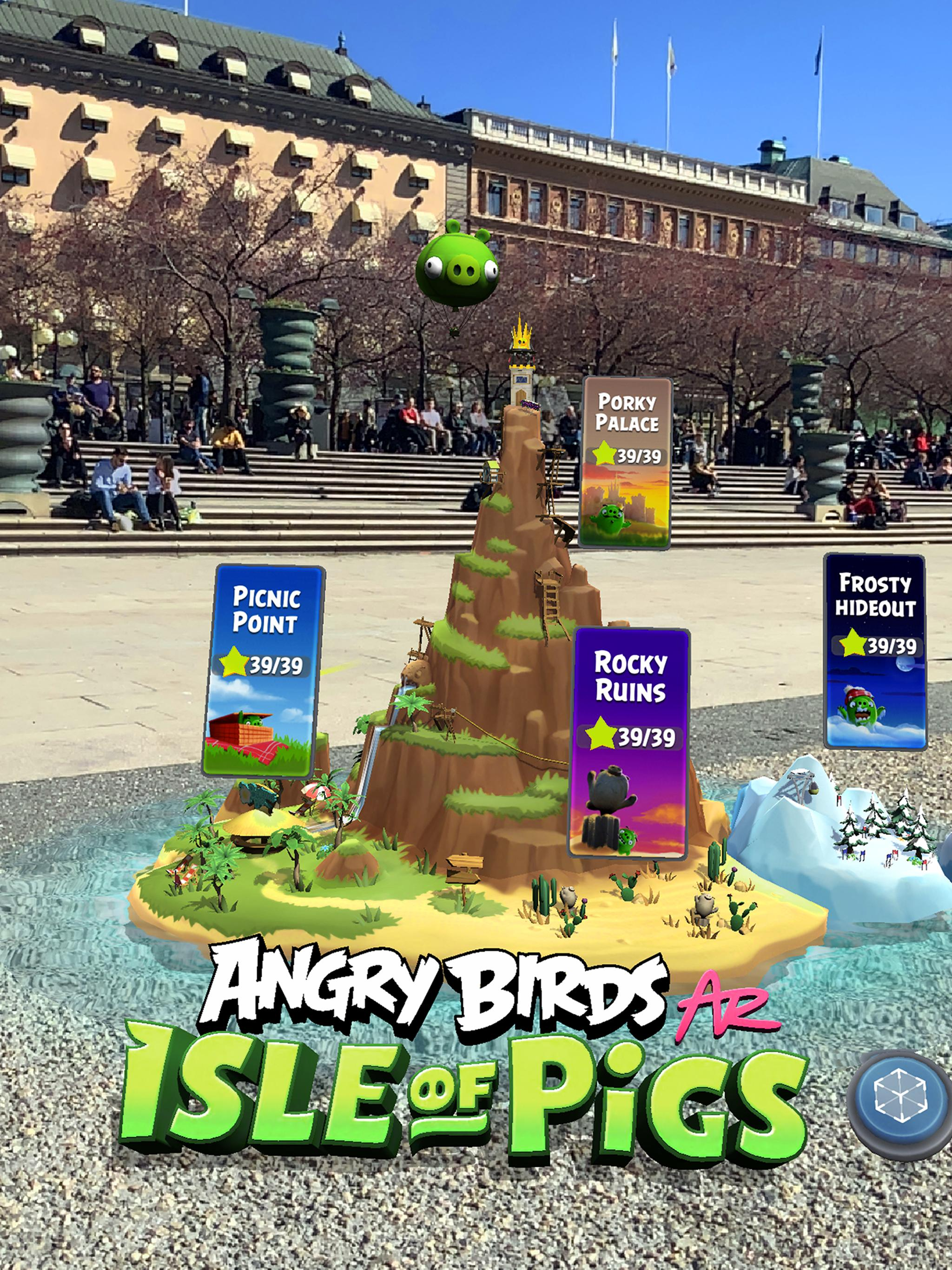 Angry Birds AR: Isle of Pigs 1.1.2.57453 Screenshot 7