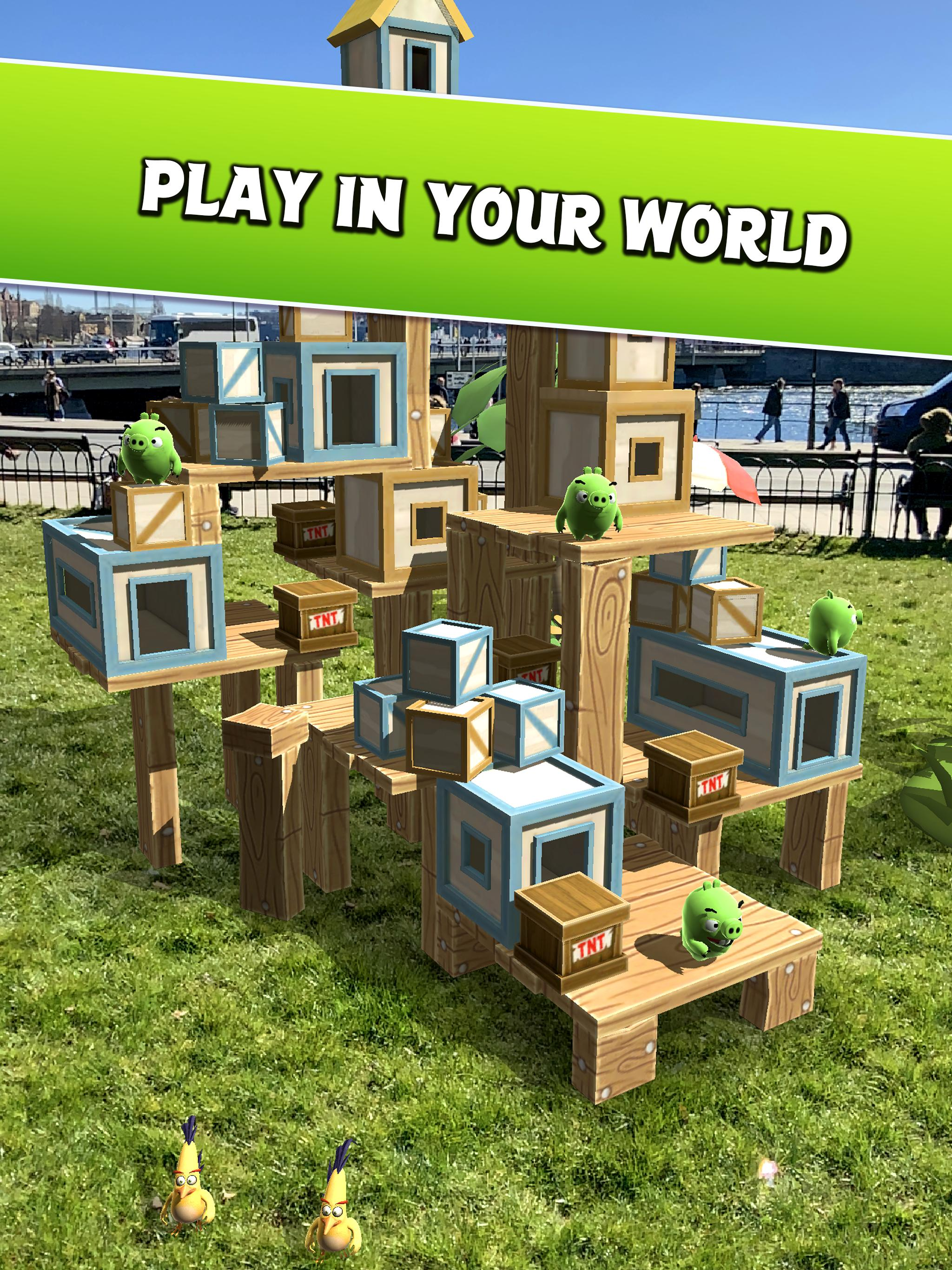 Angry Birds AR: Isle of Pigs 1.1.2.57453 Screenshot 8