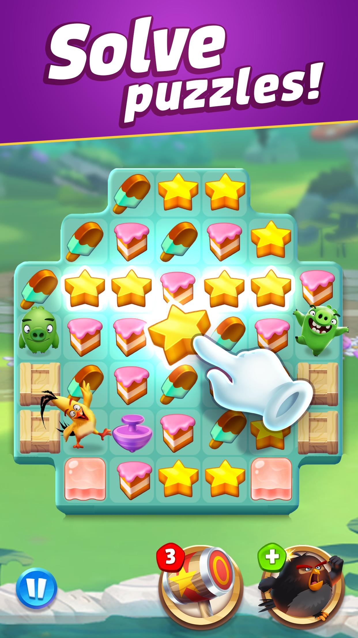 Angry Birds Match 3 3.1.0 Screenshot 2