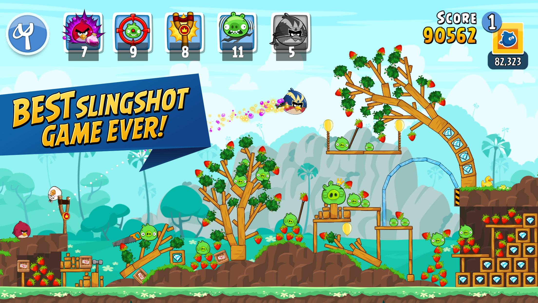 Angry Birds Friends 9.7.2 Screenshot 1