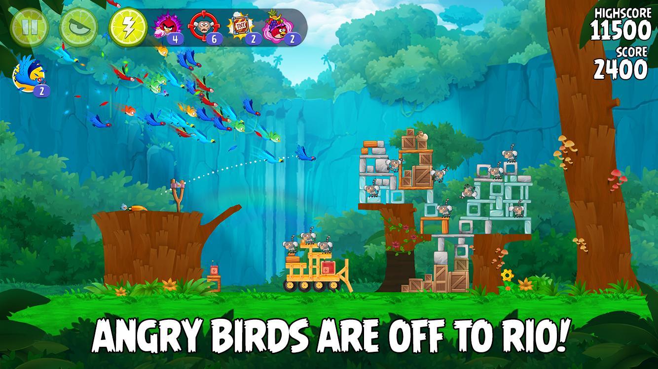 Angry Birds Rio 2.6.13 Screenshot 1