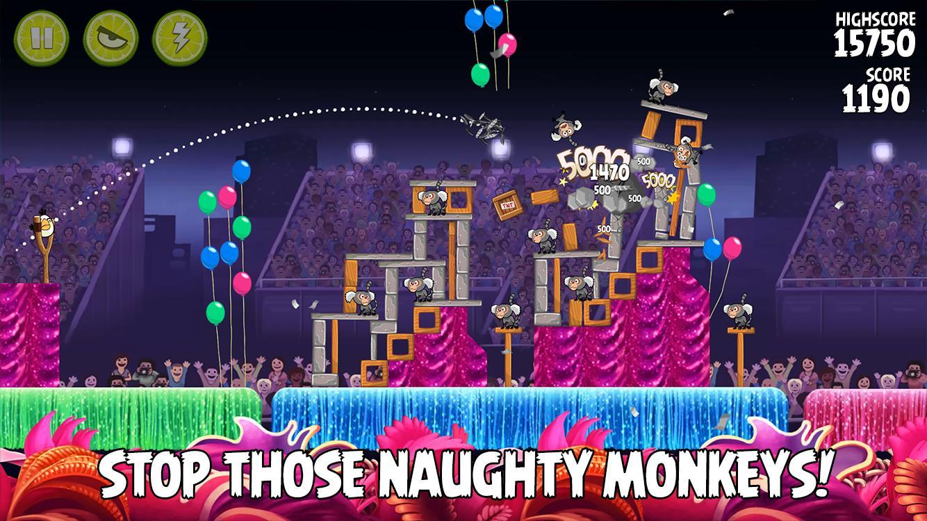 Angry Birds Rio 2.6.13 Screenshot 2