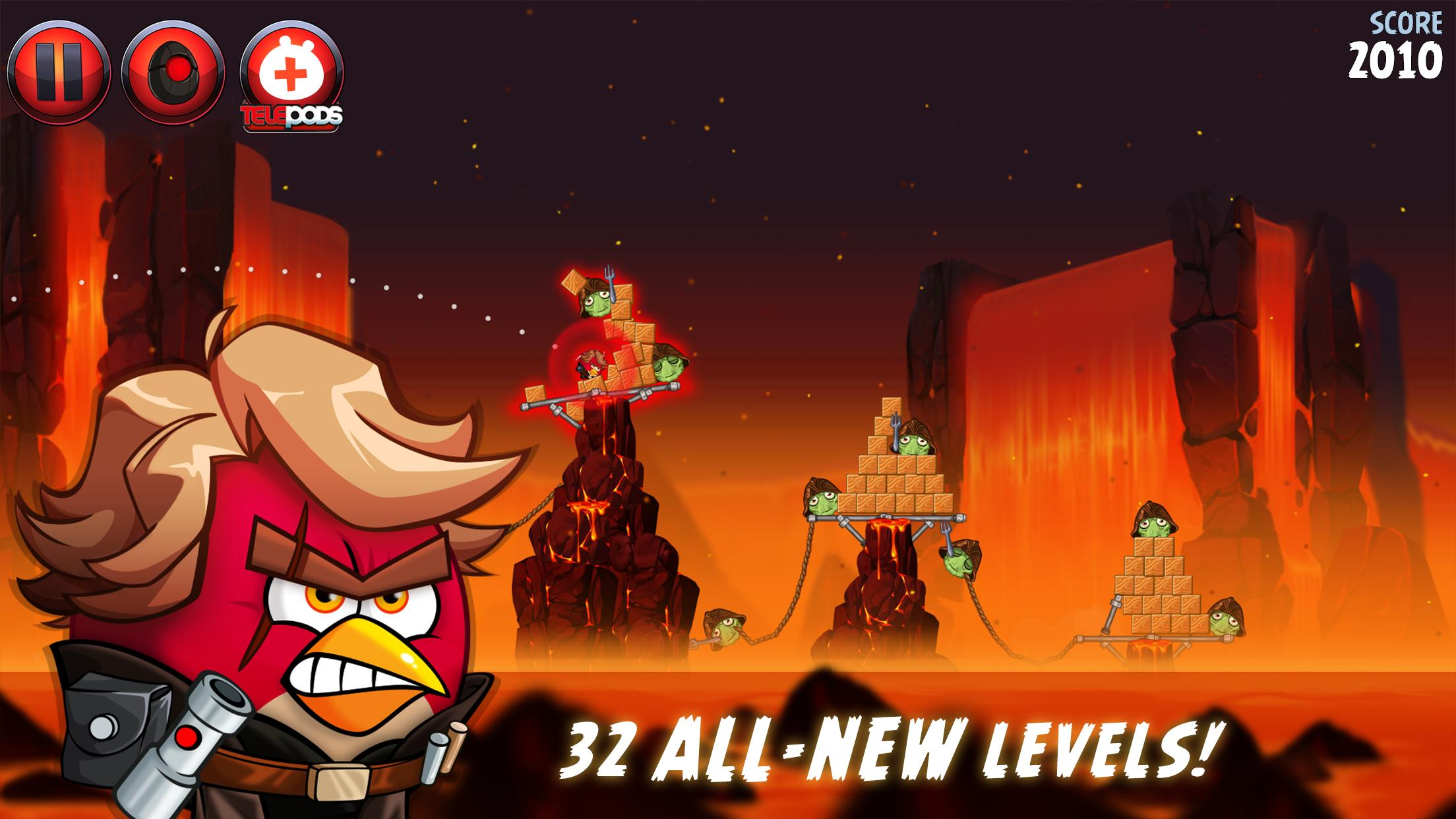 Angry Birds Star Wars II Free 1.9.25 Screenshot 11