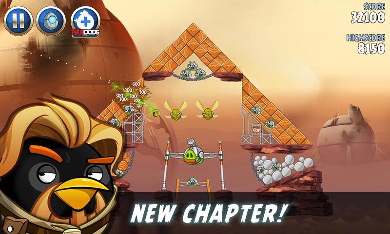 Angry Birds Star Wars II Free 1.9.25 Screenshot 4