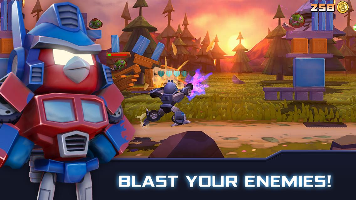 Angry Birds Transformers 2.6.0 Screenshot 1