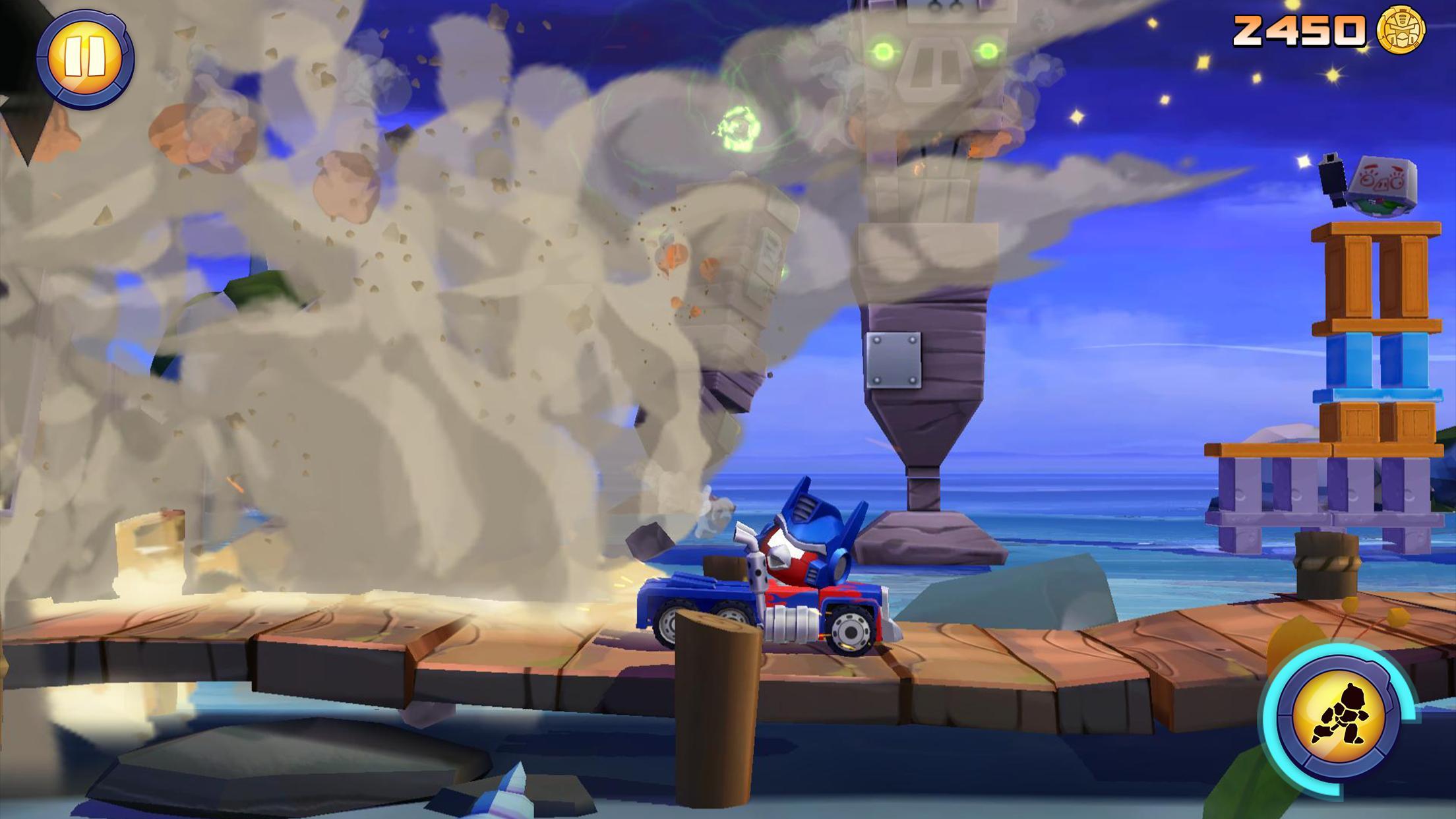 Angry Birds Transformers 2.6.0 Screenshot 12