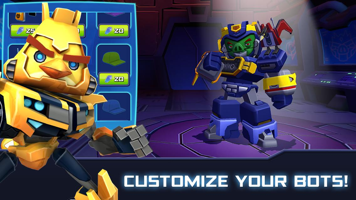 Angry Birds Transformers 2.6.0 Screenshot 2