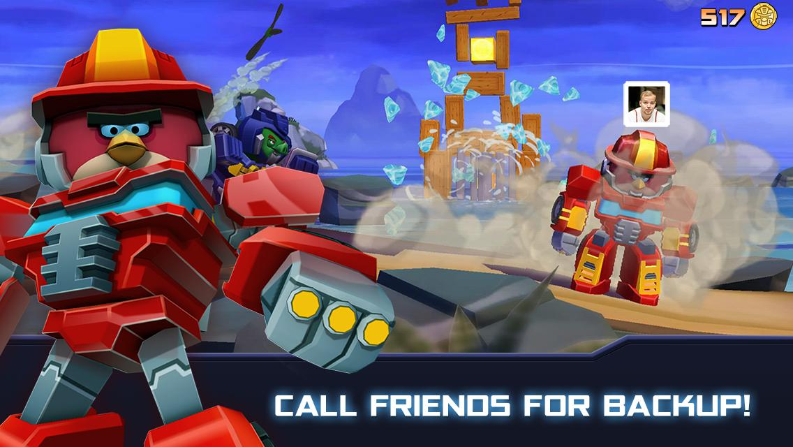 Angry Birds Transformers 2.6.0 Screenshot 3
