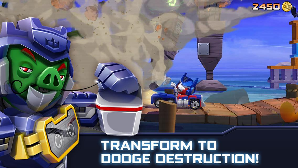 Angry Birds Transformers 2.6.0 Screenshot 4