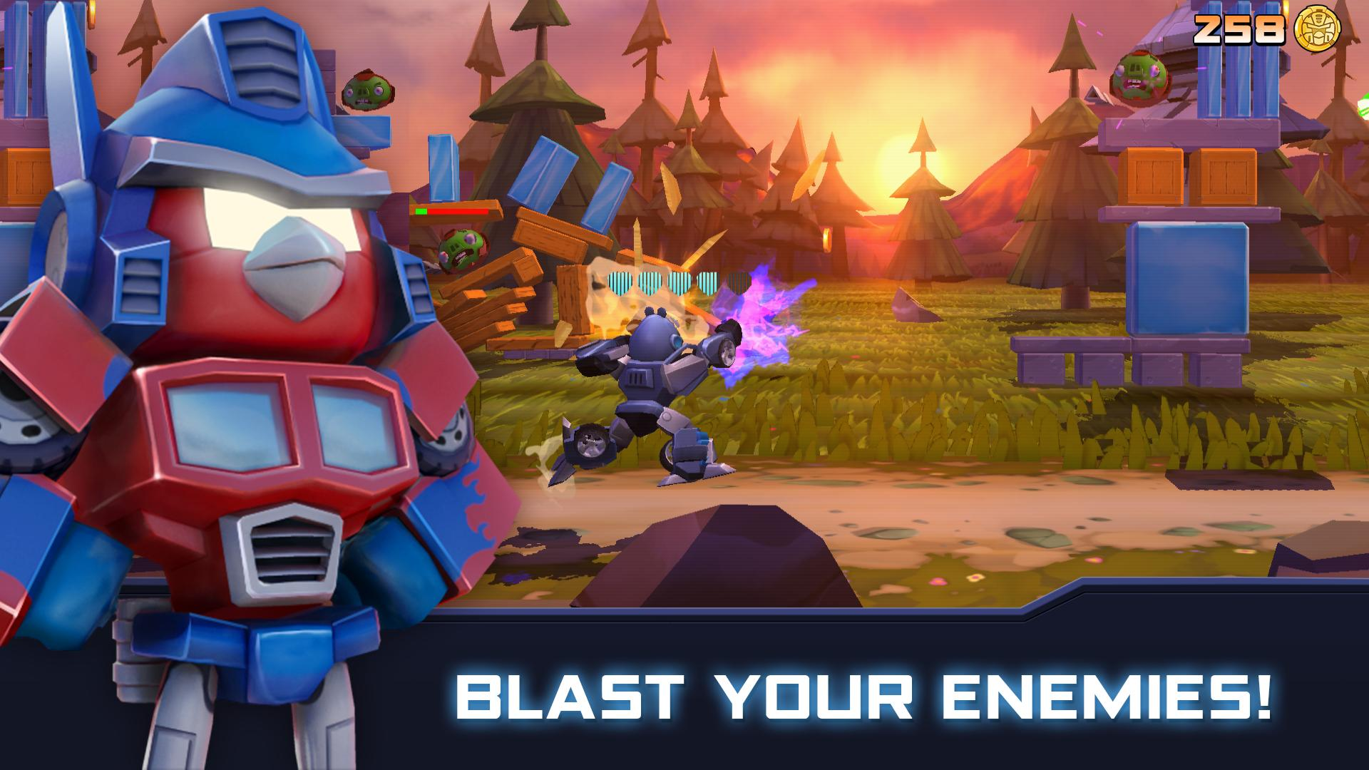 Angry Birds Transformers 2.6.0 Screenshot 7