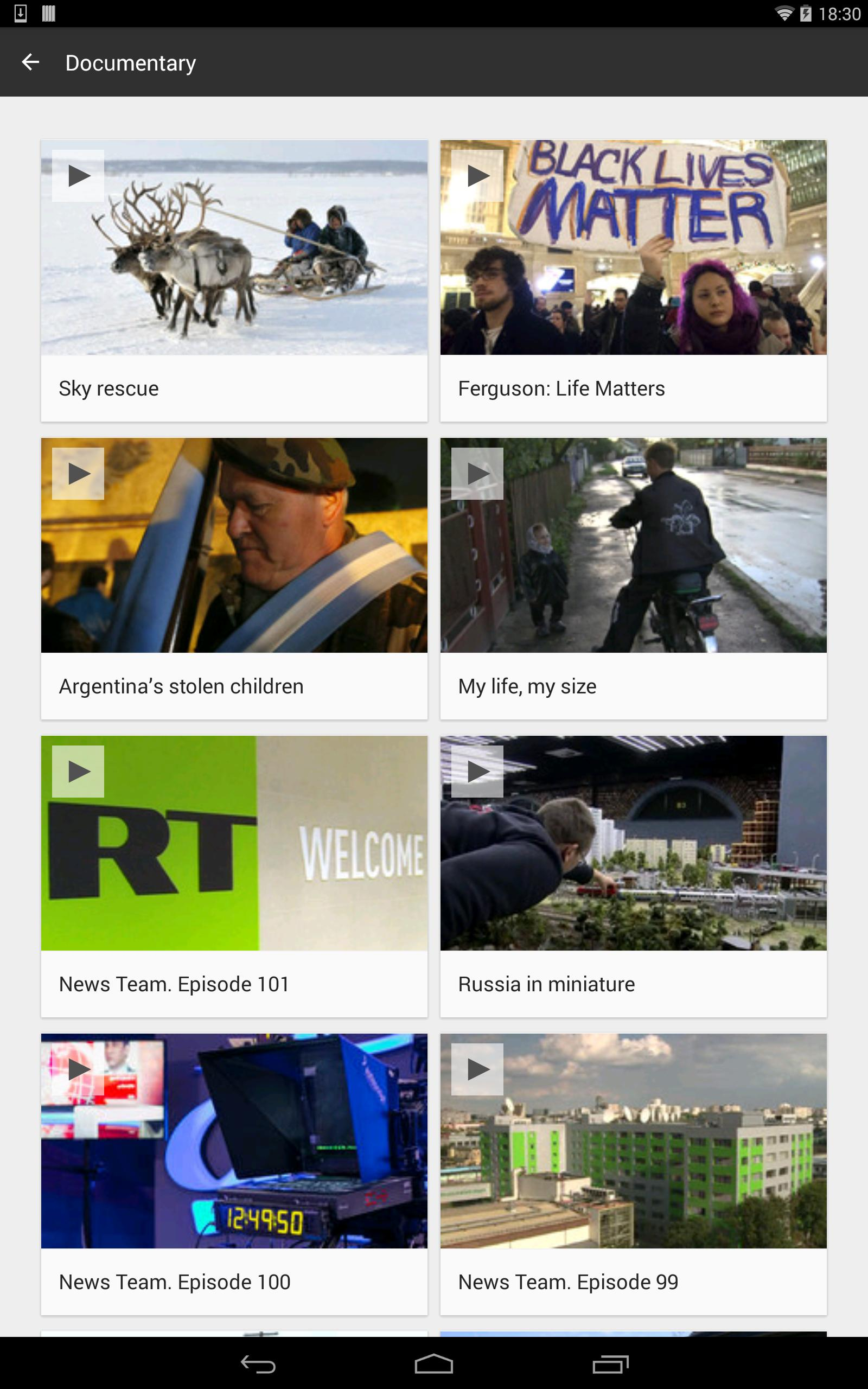 RT News 3.5.37 Screenshot 15