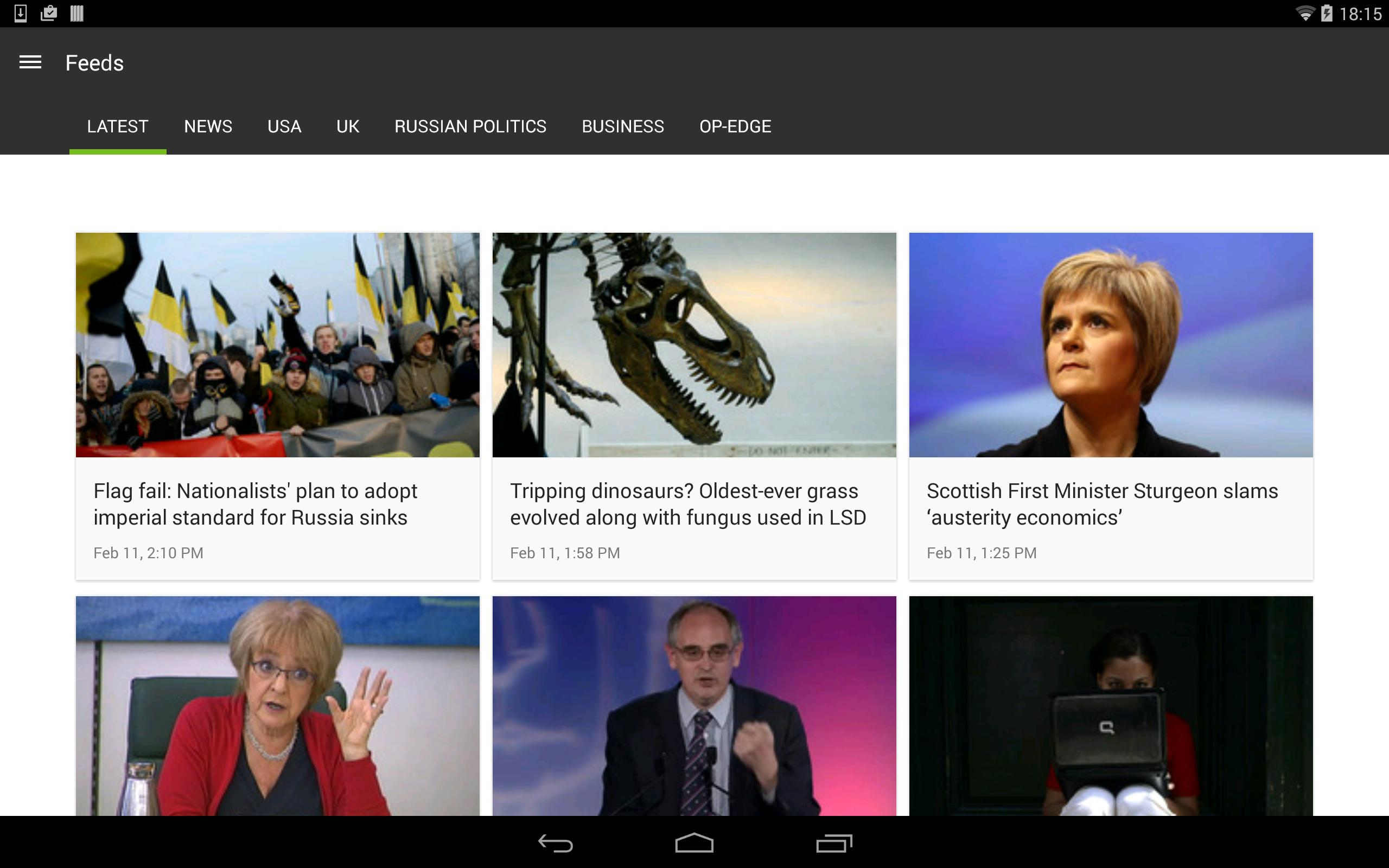 RT News 3.5.37 Screenshot 9