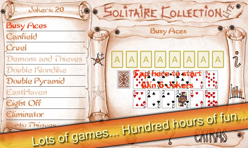 Solitaire Collection Lite 3.0 Screenshot 1