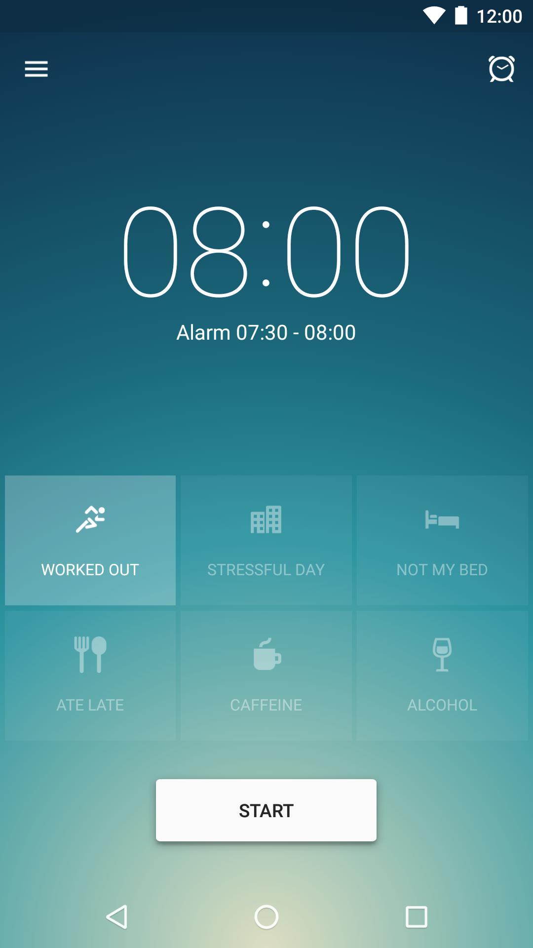Runtastic Sleep Better: Sleep Cycle & Smart Alarm 2.6.1 Screenshot 1