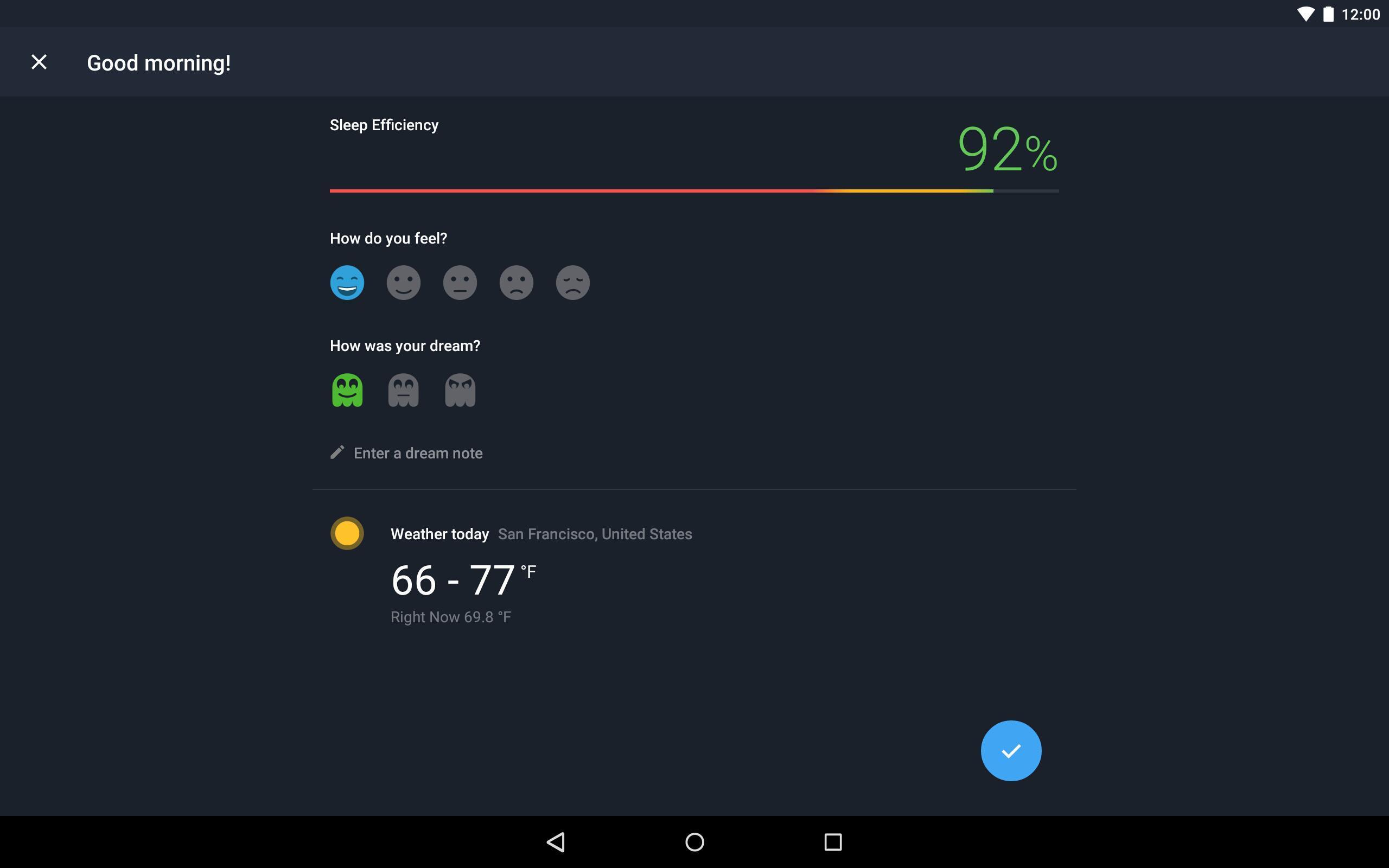 Runtastic Sleep Better: Sleep Cycle & Smart Alarm 2.6.1 Screenshot 11
