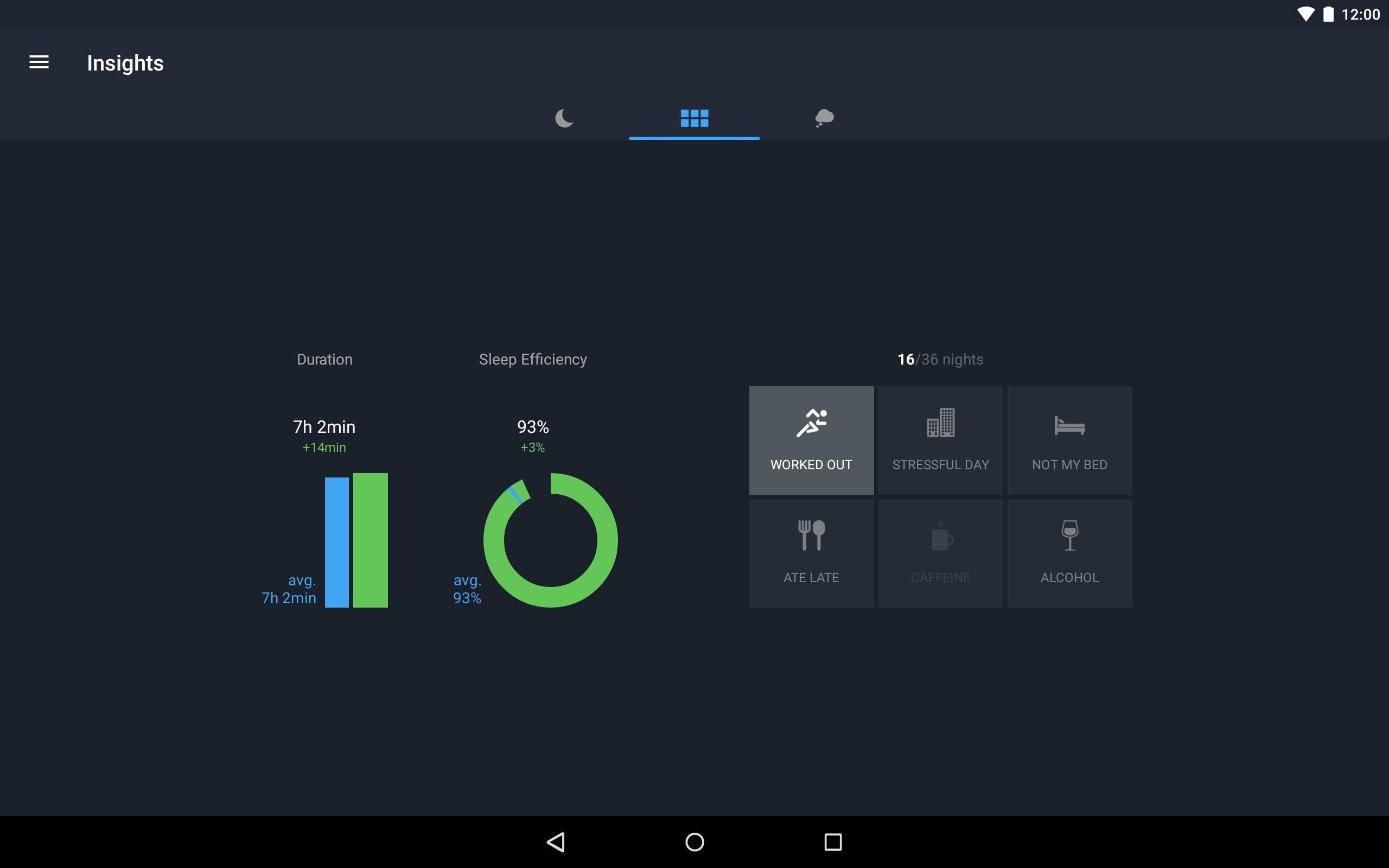 Runtastic Sleep Better: Sleep Cycle & Smart Alarm 2.6.1 Screenshot 14