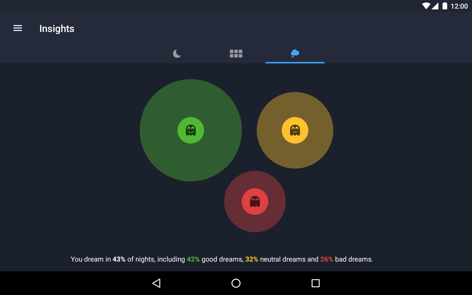 Runtastic Sleep Better: Sleep Cycle & Smart Alarm 2.6.1 Screenshot 19