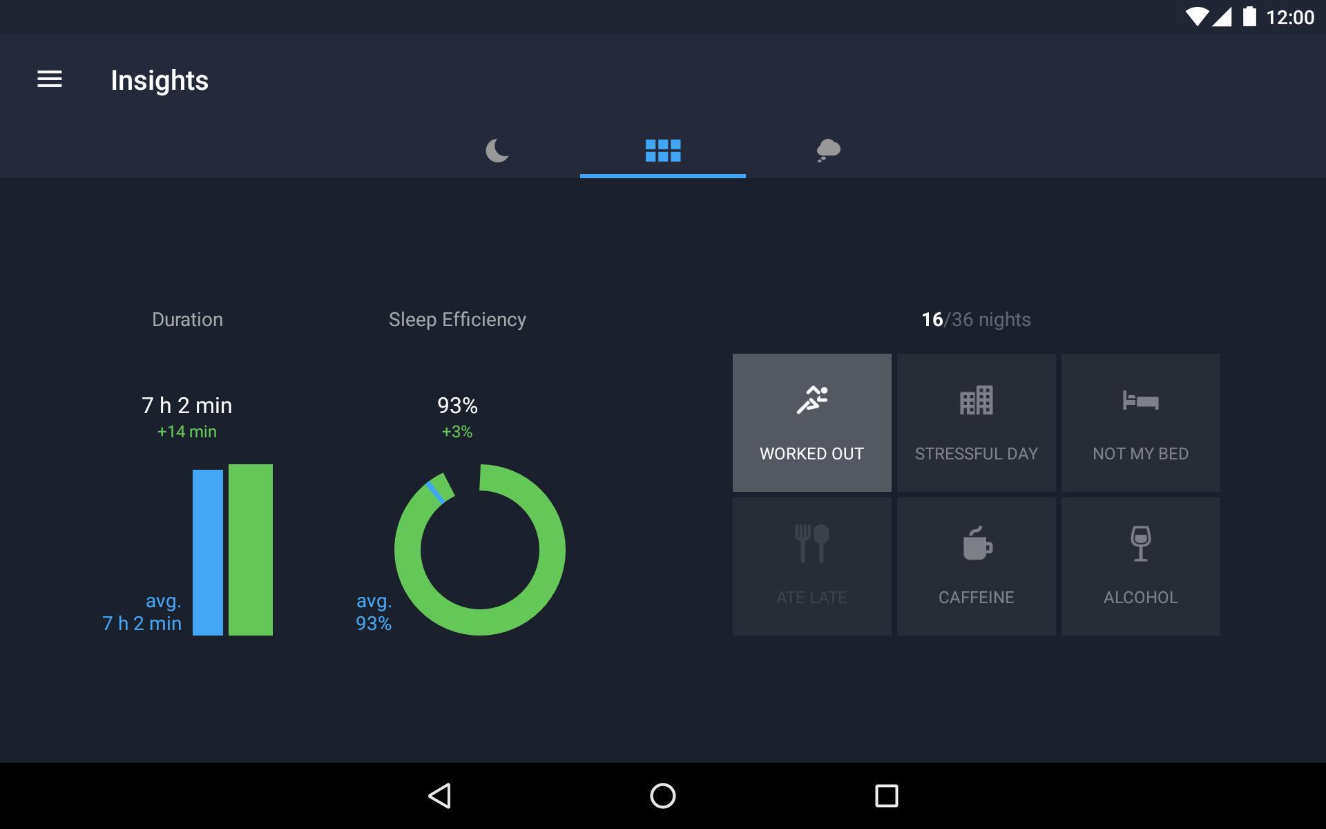 Runtastic Sleep Better: Sleep Cycle & Smart Alarm 2.6.1 Screenshot 20