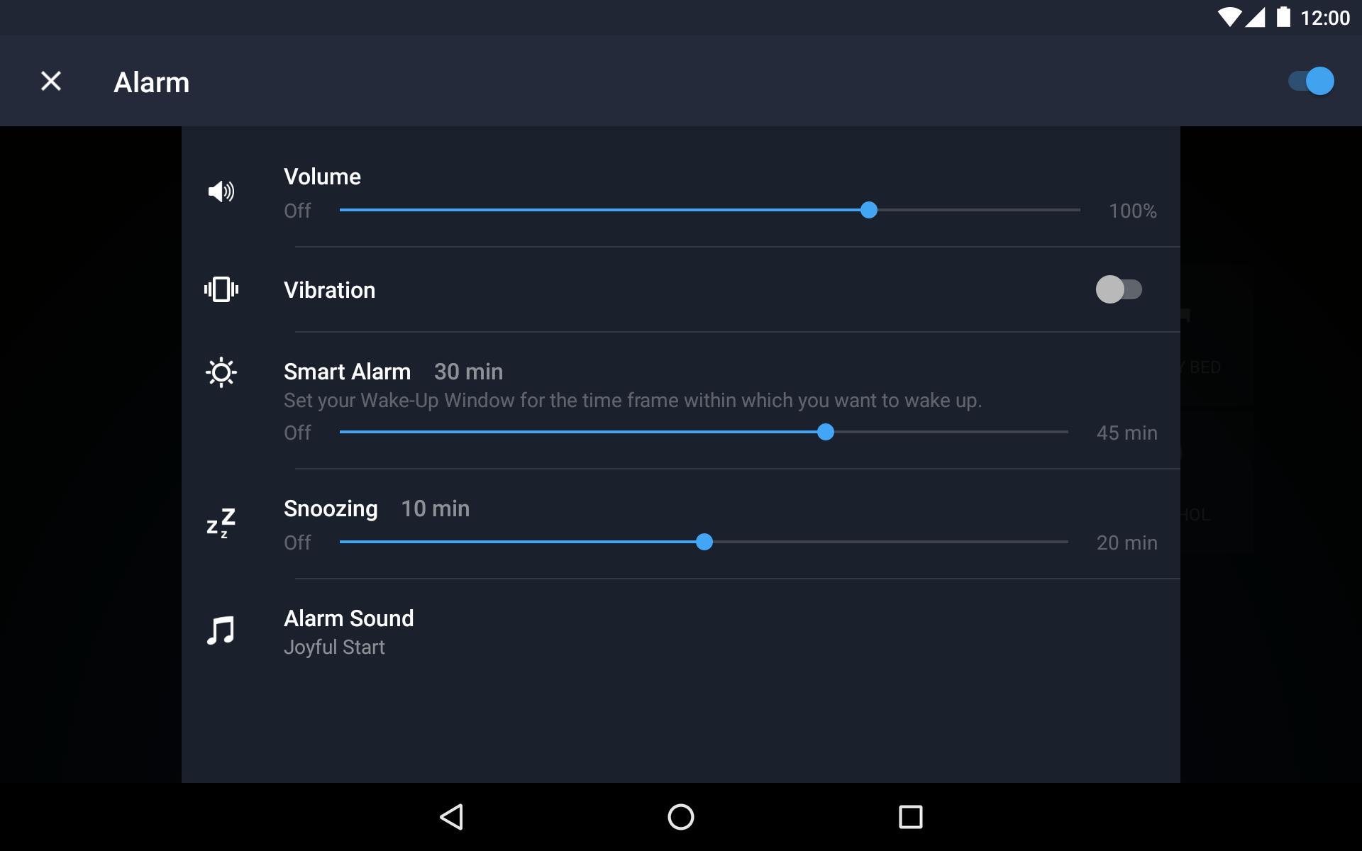Runtastic Sleep Better: Sleep Cycle & Smart Alarm 2.6.1 Screenshot 22