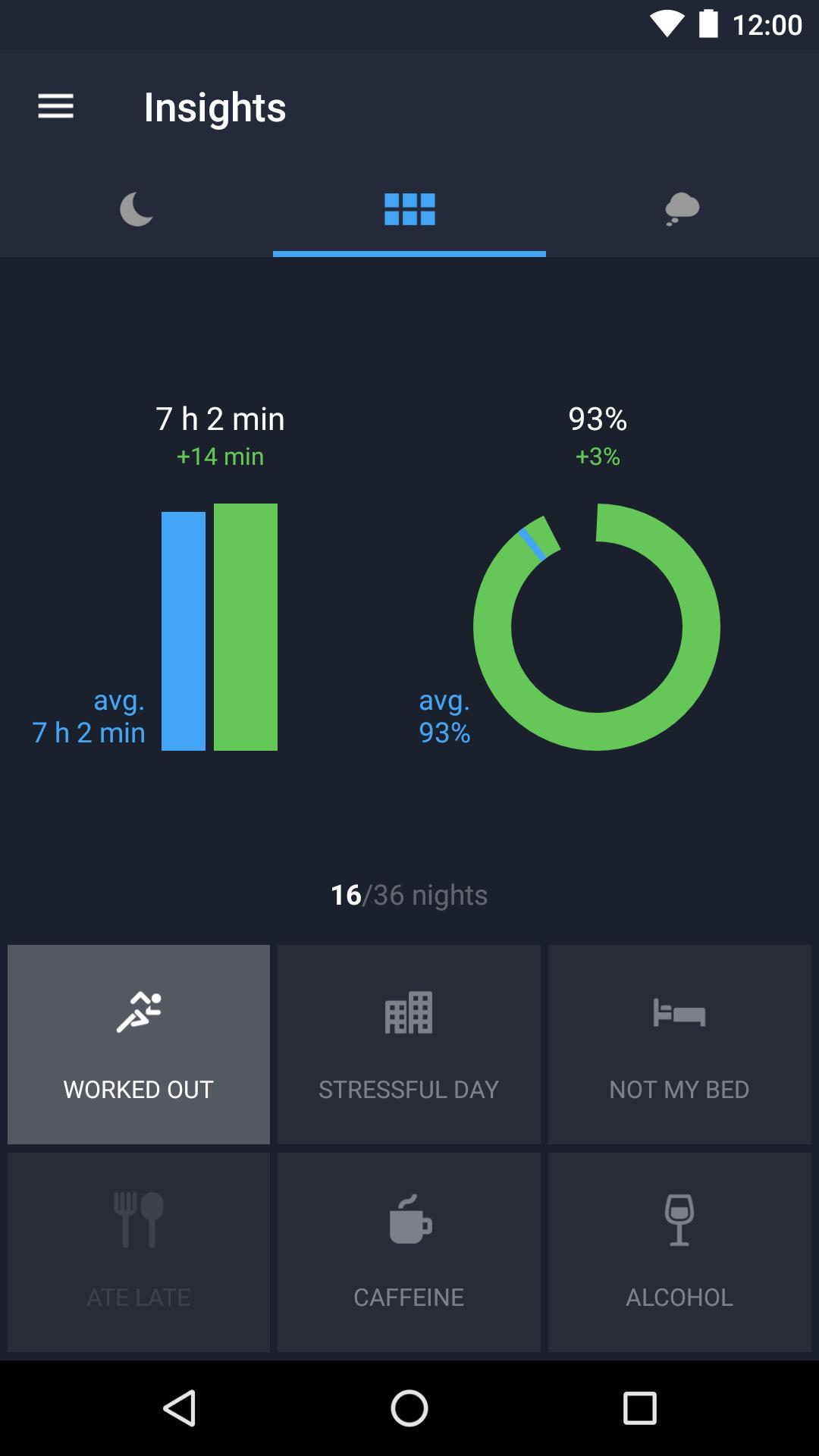 Runtastic Sleep Better: Sleep Cycle & Smart Alarm 2.6.1 Screenshot 6