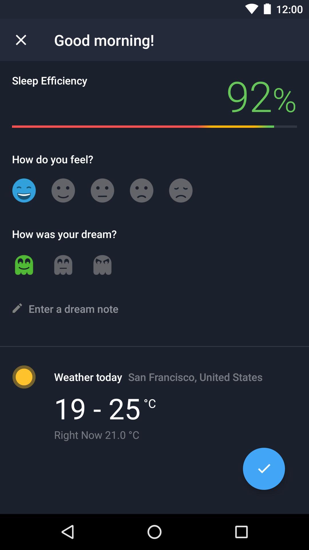 Runtastic Sleep Better: Sleep Cycle & Smart Alarm 2.6.1 Screenshot 7