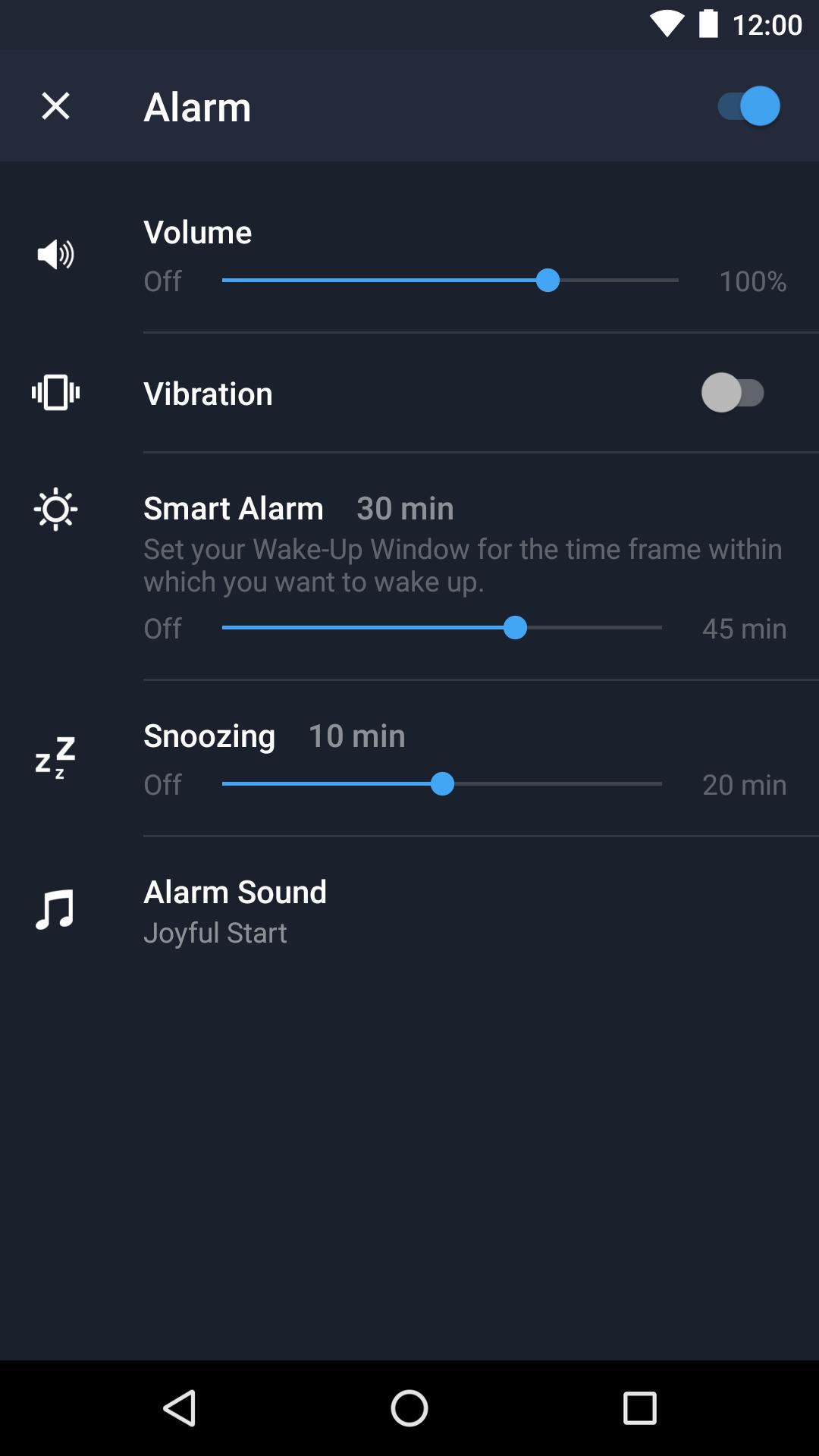 Runtastic Sleep Better: Sleep Cycle & Smart Alarm 2.6.1 Screenshot 8