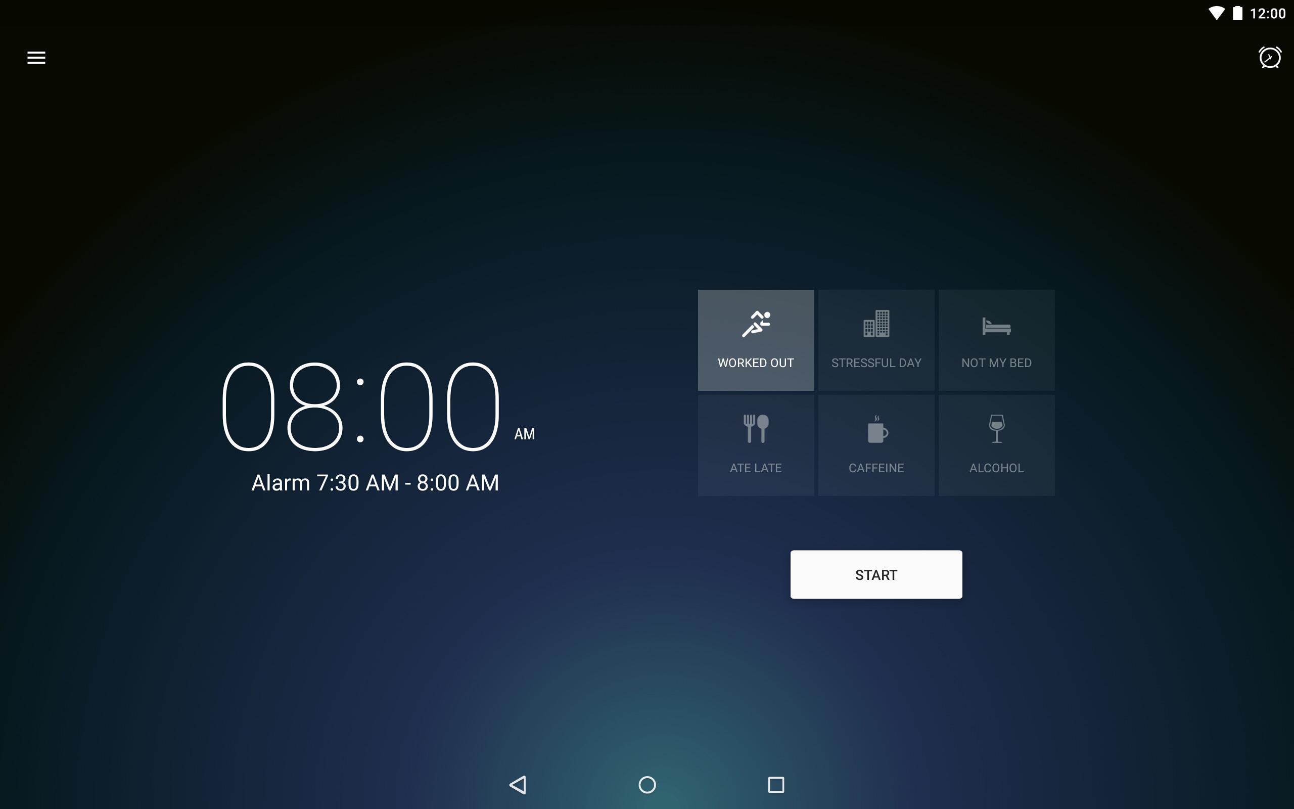 Runtastic Sleep Better: Sleep Cycle & Smart Alarm 2.6.1 Screenshot 9