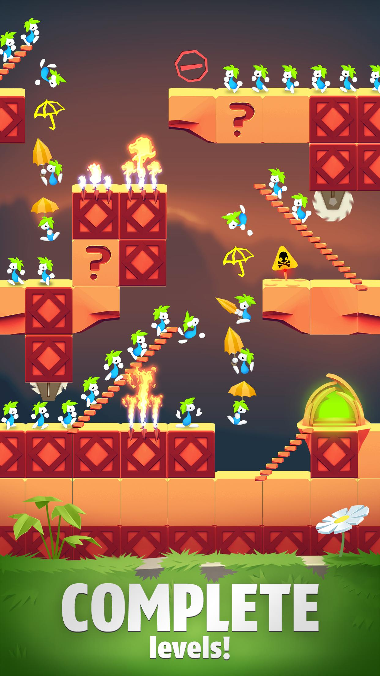 Lemmings Puzzle Adventure 4.90 Screenshot 1